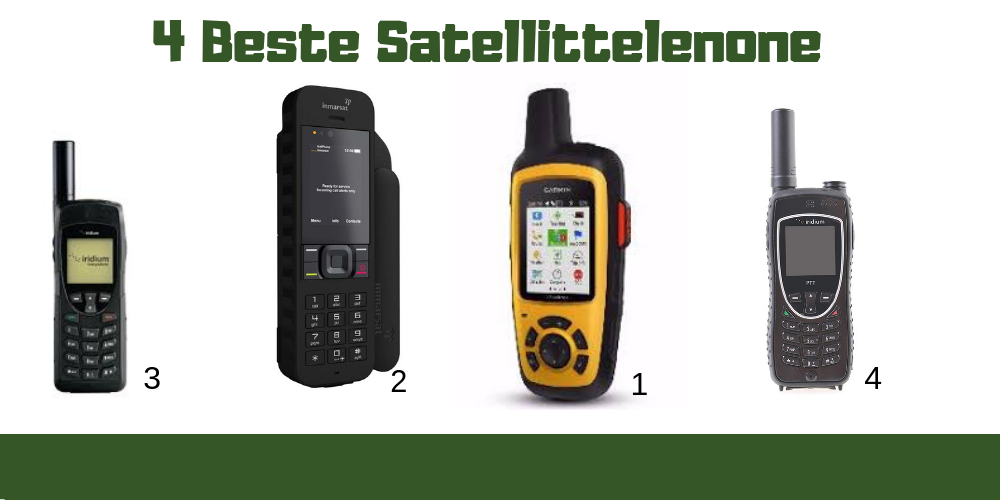 Satellittelefon test